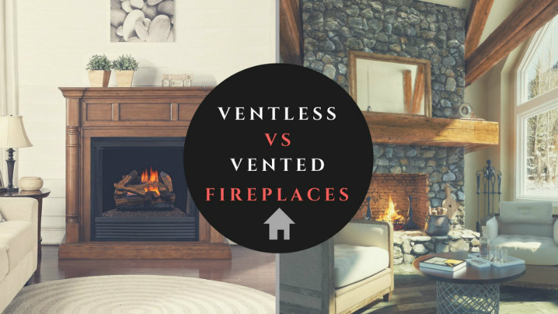 Differences Between Ventless And Vented Fireplaces Factory