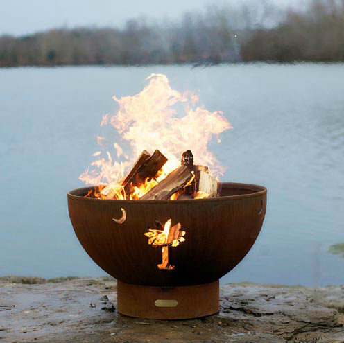Keep warm in the fall with a fire pit